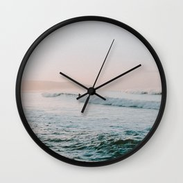 summer waves Wall Clock