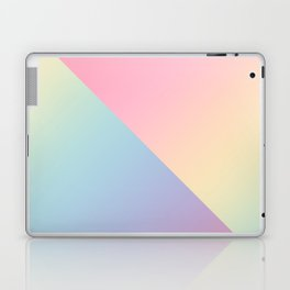 Geometric abstract rainbow gradient Laptop & iPad Skin