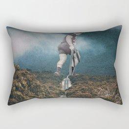 Gym guy Rectangular Pillow