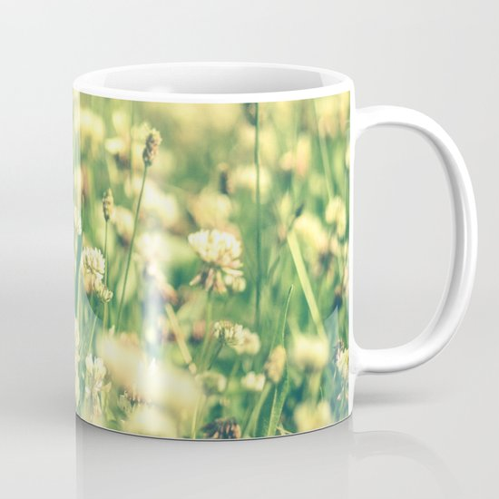 My Heart Was Wrapped in Clover (the night I looked at you) Mug