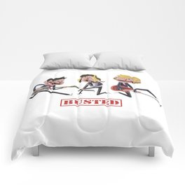 BUSTED (Band) Comforters