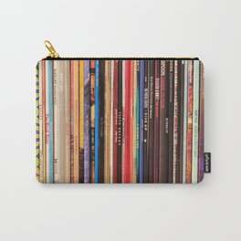 Indie Rock Vinyl Records Carry-All Pouch
