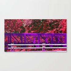 Purple Bridge Canvas Print