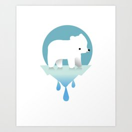 Sustainable Love Art Print