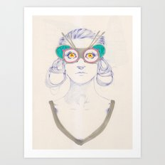Untitled drawing Art Print