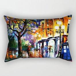 The Light Tardis Rectangular Pillow