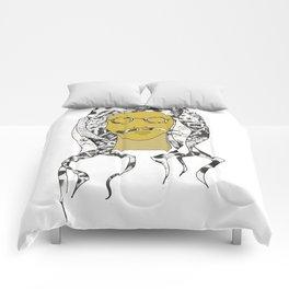 Cabeza 1 Comforters