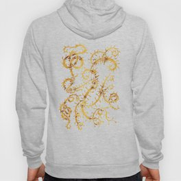 gold vine Hoody