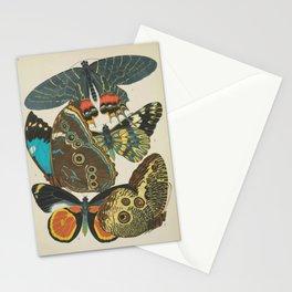 Art Nouveau Butterfly Stationery Cards