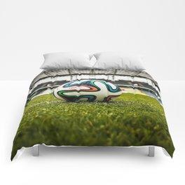 Soccer Ball Field Comforters