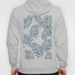 Blue Leaves Hoody