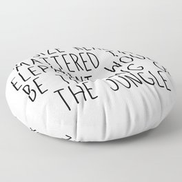 If Size Really Mattered Funny Quotes Mug Floor Pillow