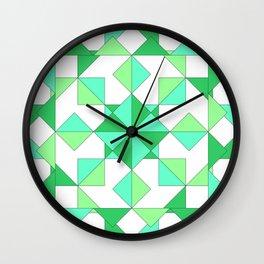 Geometric Globe by Freddi Jr Wall Clock