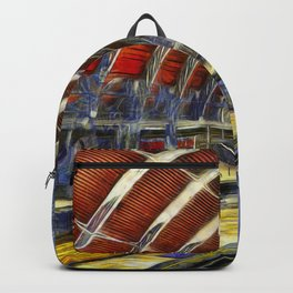 Paddington Railway Station Art Backpack