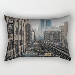 Morning Fader Rectangular Pillow
