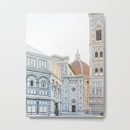 Il Duomo, Florence Italy Photography Metal Print