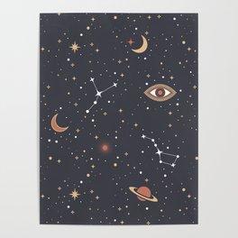 Mystical Galaxy Poster