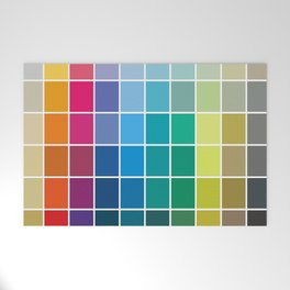 Colorful Soul - All colors together Welcome Mat
