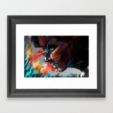 I Am The Coldest Framed Art Print