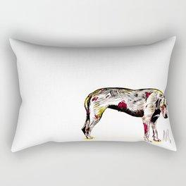 The sadness of streetdogs Rectangular Pillow