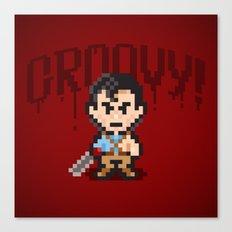 Evil Dead Pixels Canvas Print