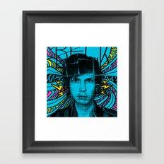 Beck Hell Yes Framed Art Print