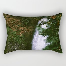 Stream at Multnomah Falls, Oregon Rectangular Pillow