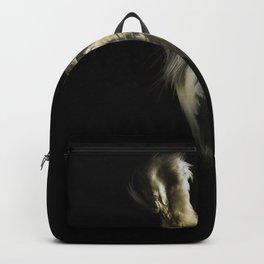 Grey Heron Portrait Backpack