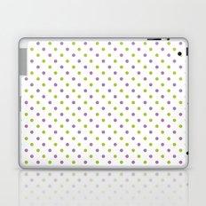 Fun Dots purple green Laptop & iPad Skin