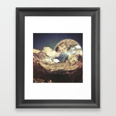 Everest's Connection  Framed Art Print