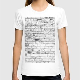 Withe brick wall T-shirt