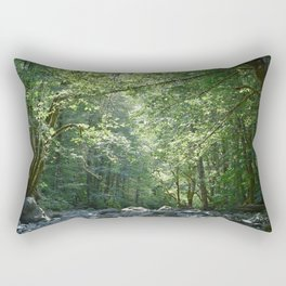 Elk Creek in Tillamook Oregon Rectangular Pillow