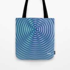 SoundWaves Teal/Indigo Tote Bag