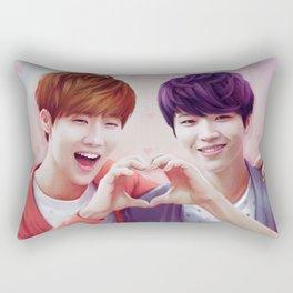 Woogyu Valentine Rectangular Pillow
