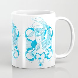 Fishy Lady Coffee Mug