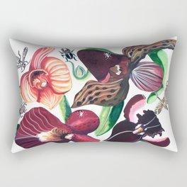 Orchid Cafe Rectangular Pillow