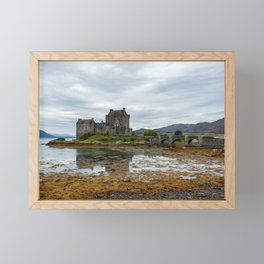 Eilean Donan Castle in Scotland Framed Mini Art Print