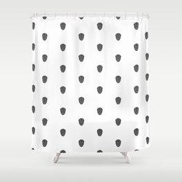 Trilobite Pattern Shower Curtain