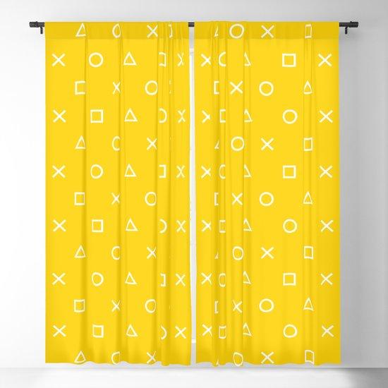 Yellow Gamer Pattern by xooxoo