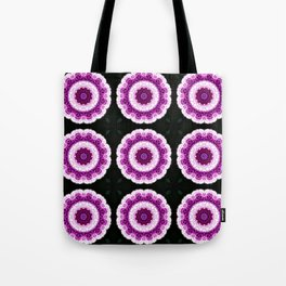 Allium Manipulation Grid Tote Bag