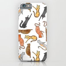 Cat Pattern iPhone 6s Slim Case