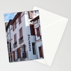 Basque patisserie Stationery Cards