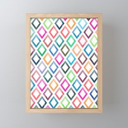 Lovely Pattern III Framed Mini Art Print