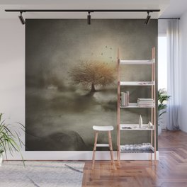 Lone Tree Love IV Wall Mural