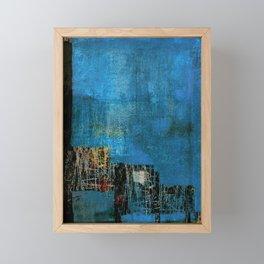 Palafitas Framed Mini Art Print