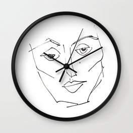 her #4 Wall Clock