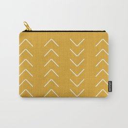 V / Yellow Carry-All Pouch