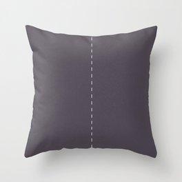 2 lanes, Time Rider Throw Pillow