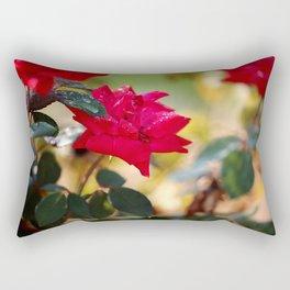 Raindrops Keep Falling Rectangular Pillow