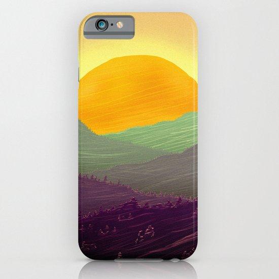 Mountain sunset iPhone & iPod Case